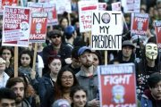 Trump election win prompts protests across US