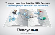 Thuraya to leverage LPWAN technology with long range satellite connectivity for IoT