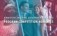 2016 ROCKIE AWARD PROGRAM COMPETITION NOMINEES ANNOUNCED
