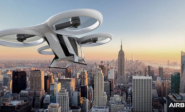 Airbus flying taxi concept on track to make first flight in 2018