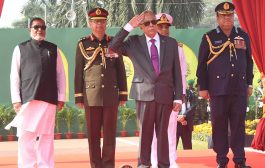 President, PM attend V-Day parade