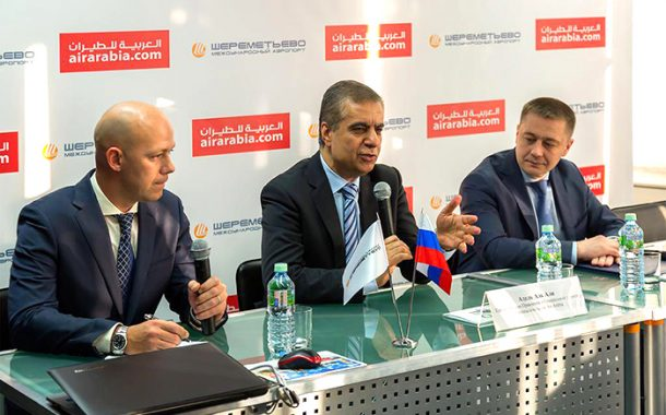 Air Arabia launches flights to Moscow's Sheremetyevo International Airport
