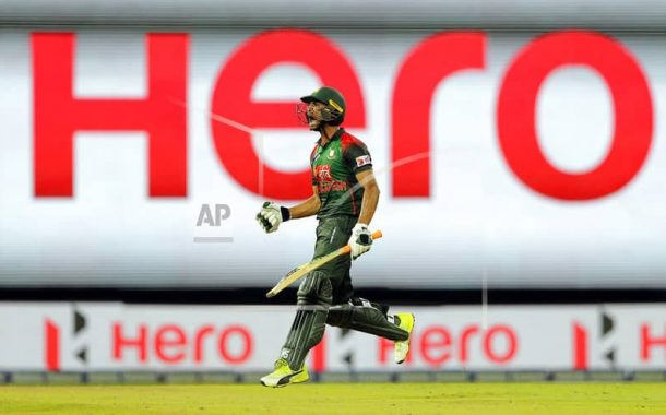 Bangladesh win by 2 wickets with death over thriller