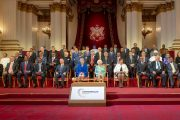 Britain's Queen Elizabeth kicks off 25th CHOGM, Bangladesh PM joins