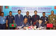 BAF signs contract with China for K-8W jet trainer aircraft