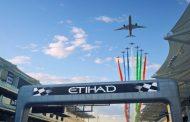 ETIHAD AIRWAYS MARKS THE FORMULA 1 ETIHAD AIRWAYS ABU DHABI GRAND PRIX WITH SPECTACULAR FLYOVER