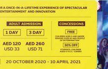 Your chance to be part of Expo 2020 Dubai's Opening Ceremony