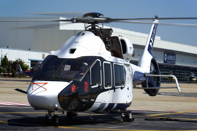 Airbus H160 prototype -2 – Airbus Helicopters