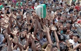 Army joins aid operation for Rohingyas