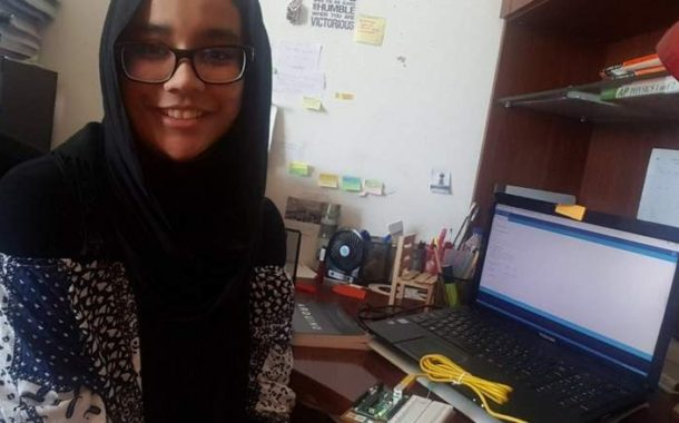 Bangladeshi Ayesha Ahmed, In race to win global science competition