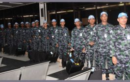94 Navy personnel off to South Sudan for peacekeeping