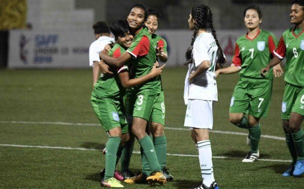 BD Women outplay Pakistan 14-0